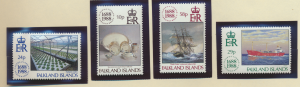 Falkland Islands Stamps Scott #482 To 483, Mint Never Hinged - Free U.S. Ship...