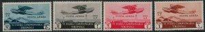 Libya 1932 SC C4-C7 MNH Set