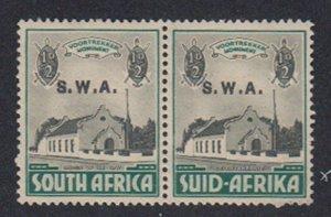 Southwest Africa - 1935-36 - SC B1 - NH