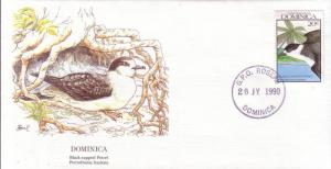 Dominica FDC SC# 1242 Black Capped Petrel L26