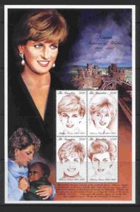 Gambia 2014 MNH Princess Diana, Royalty