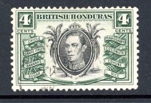 British Honduras 118 U 1938
