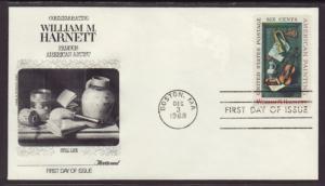 US 1386 William Harnett Fleetwood U/A FDC