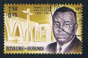 Burundi B3 Used Prince Rwagasore (BP1384)