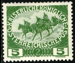 AUSTRIA - SC #B4  - UNUSED MINT HINGED - 1915 - Austria323