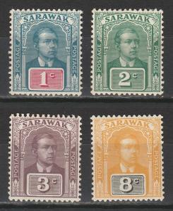 SARAWAK 1918 RAJA RANGE TO 8C  NO WMK