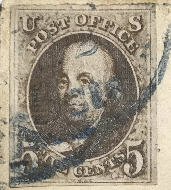 U.S #1a Dark Brown-Full Double Transfer
