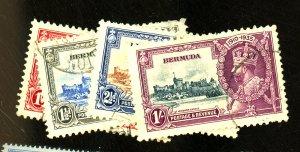 Bermuda #100-3 Used VF Cpl tiny corner creases Cat $ 31.35
