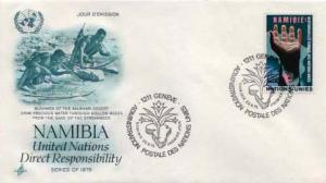 United Nations Geneva, First Day Cover, Namibia
