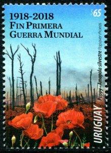 HERRICKSTAMP NEW ISSUES URUGUAY World War I Centenary