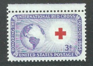 US 1952, Red Cross Issue, Scott # 1016,VF-XF MNH**