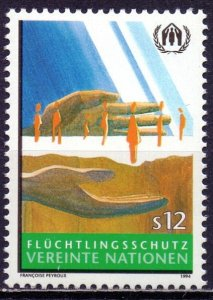 UN Vienna. 1994. 166. protection of refugees. MNH.