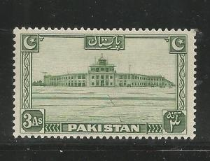 PAKISTAN  31  MINT HINGED, KARACHI AIRPORT BUILDING