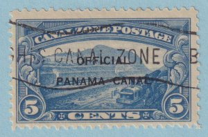 UNITED STATES - CANAL ZONE O3 OFFICIAL USED (NH CTO) - NO FAULTS EXTRA FINE!