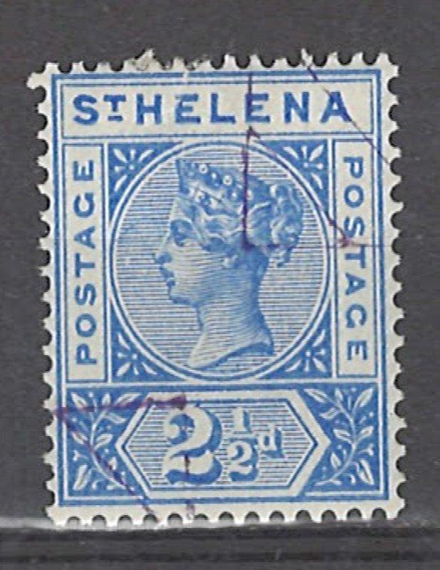 COLLECTION LOT # 3041 SAINT HELENA #44 PRECANCEL 1896 CV=$14.50