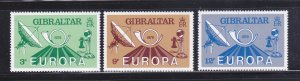 Gibraltar 382-385 Set MNH Europa (B)