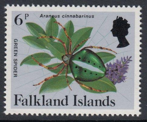 Falkland Islands - 1984 Insects and Spiders (6p) (MNH)