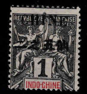 French office in China Scott 18a MH* stamp