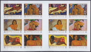 1972 Manama 875-880KLb Artist / Paul Gauguin