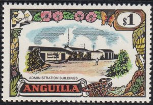 Anguilla 1970 MH Sc #111 $1 Administration Buildings