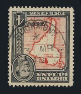 GUYANA / BRITISH GUIANA - 1948 - BLAIRMONT SINGLE CIRCLE DS ON SG310
