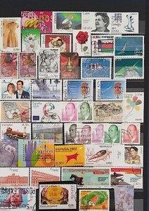 Lot Spain 2002-2007 used/unused