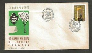 1960 Portugal Scouts XI Acampamento Corpo Nacional Estoril