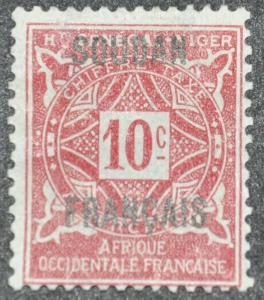 DYNAMITE Stamps: French Sudan Scott #J2 – UNUSED