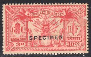 NEW HEBRIDES-FRENCH SCOTT 48