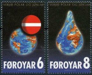 Faroe Islands 2009 #508-9 MNH. Environment, PPRG