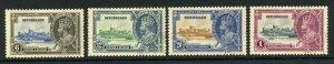 Seychelles SG128/31 1935 Silver Jubilee Set Used