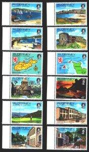 Alderney. 1983. 1-12. Tourism, ships, seagulls, cows. MNH.