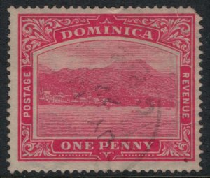 Dominica #57 rounded corner  CV $4.00