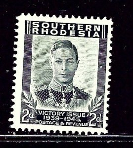 Southern Rhodesia 68 MH 1947 issue    (ap2760)