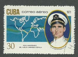 1971 Cuba Scott Catalog Number C248 Used