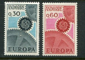 French Andorra #174-5 MNH Europa