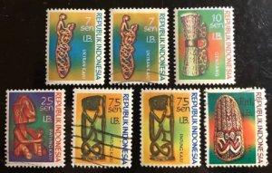 West Iran Scott#52...58 Used/Unused F/VF to XF Cat. $3.30