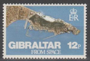 Gibraltar #363  MNH F-VF (ST1880)