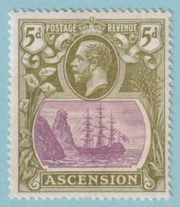ASCENSION ISLAND SG 15dc  MINT HINGED OG * CLEFT ROCK - NO FAULTS VERY FINE!