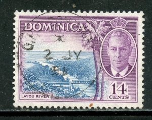 Dominica #  131, Used. CV $ 3.50