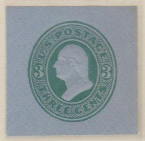 U.S. Scott #U166 Washington - Embossed Stamped Envelope - Mint Single