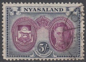 Nyasaland Protectorate 79 Used CV $6.50