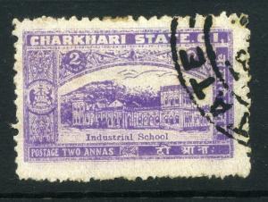 INDIA  CHARKARI  1931 early issue fine used 2a. value light shade