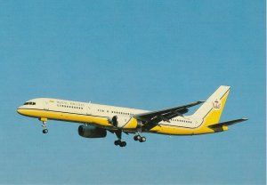 6780 Aviation Postcard   ROYAL BRUNEI  Airlines