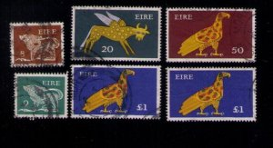 6 Ea 1968-70 Ireland Sc 259-261 and Sc 303-304 Used F-VF