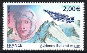 France C67, MNH. Adrienne Bolland, Pilot, 2005
