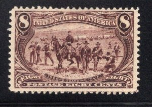 US Stamp Scott #289 Mint Previously Hinged SCV $140