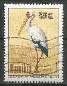 NAMIBIA, 1994, used 35c, Storks. Scott 766