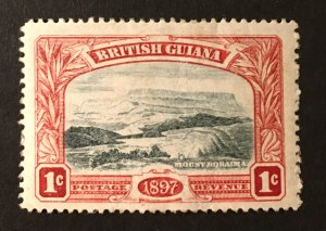 British Guiana Sc. #152 mint hinged, CV $9.25