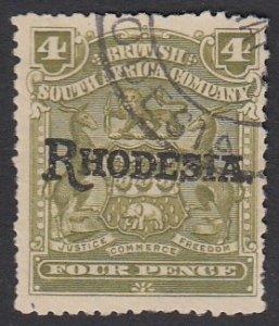 Rhodesia 87 Used CV $4.25